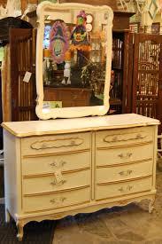 Mirror Dresser Vintage 70 U0027s Cream And Gold Detailed Dresser With Mirror Aunt