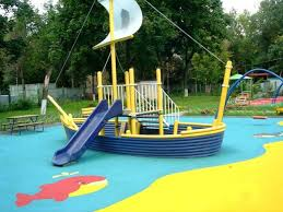 best surfacing ideas for playground design