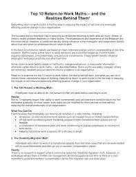 resume cover letter sample returning to work