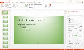 How To Use And Edit Powerpoint Master Slides Ppt Powerpoint