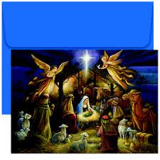 holy scene religious christmas cards 798000