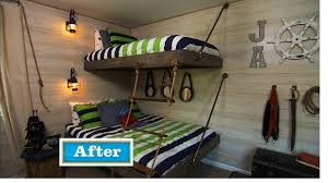 Pirate Ship Bunk Bed Floating Bunk Beds Tutorial Knock It Diy Project East