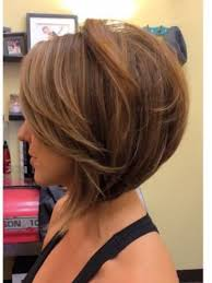 diy cutting a stacked haircut cut inverted bob with side swept fringe though hate those long