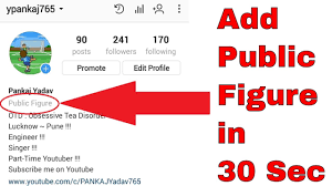 biography for instagram profile how to add public figure in instagram bio 2018 youtube