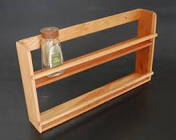 Spice Rack Storage Organizer Wooden Spice Rack Etsy