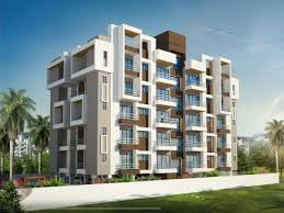 Apartment Elevation Designing D Architectural Rendering - Apartment architectural design