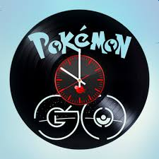 pokemon go vinyl clock home decor vinyl clocks