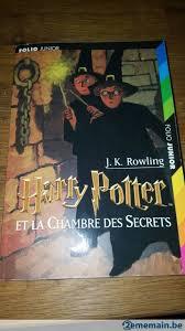 harry potter et la chambre des secrets livre audio livre harry potter la chambre des secrets a vendre 2ememain be