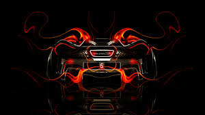 orange mclaren wallpaper mclaren p1 back fire abstract car 2014 el tony