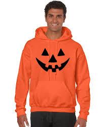 Pumpkin Halloween Costume Jack O Lantern Funny Pumpkin Orange Man S Hoodie S Funny