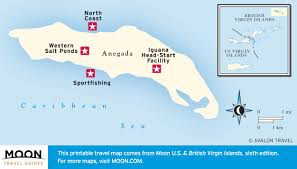 Map Of Virgin Islands Discover Anegada Of The Virgin Islands Moon Travel Guides