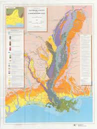 Louisiana Mississippi Map by Louisiana Geology