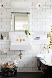 bathroom tiles black and white ideas the 25 best white tile bathrooms ideas on pinterest bathroom