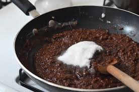 champorado filipino chocolate rice pudding recipe hungryhuy com
