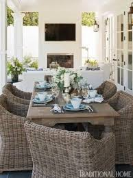 Dining Room Wicker Chairs Wicker Indoor Dining Chairs Foter