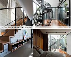 Staircase Banister Ideas 30 Stair Handrail Ideas For Interiors Stairs Home Decoratings