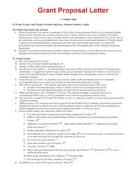 Letter Of Intent For Grant Sample by Grant Proposal Sample Thebridgesummit Co