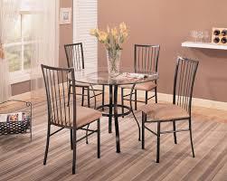 metal dining room tables designs