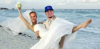 create a wedding registry indians fans create joke joe buck and kyle schwarber wedding registry