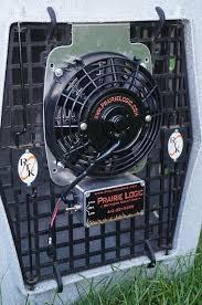 12 volt heavy duty metal fan best heavy duty dog crate fans by prairie logic