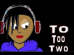 to too two song animated learn by lyrics homophones