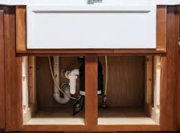 how to install farm sink in cabinet diy farmhouse sink installation easy step by step tutorial