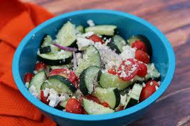 easy greek salad dressing i heart vegetables
