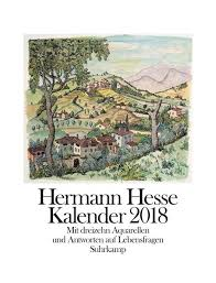 Kalender 2018 Hd Hermann Hesse Kalender 2018 Kalender Hermann Hesse