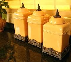 yellow kitchen canister set lemon kitchen canisters kitchen canisters set rustic kitchen