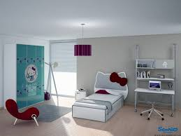 kids room modern kid bedroom design with hello kitty headboard
