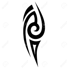 simple sketched tribal tattoos tribal vector sketch
