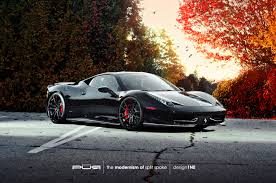 ferrari 458 custom ferrari 458 italia rides on pur wheels autoevolution