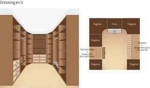 plan dressing chambre plan de dressing conseils et exemples ooreka