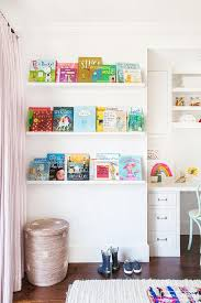 Narrow Picture Ledge Nursery White Floating Book Ledges Design Ideas