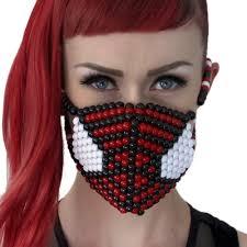 the amazing spiderman kandi mask kandi gear