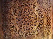 ornament door stock image image of cairo texture background