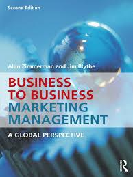 alan zimmerman jim blythe business to business marketing