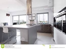 kitchen island in the middle stock photo image 57240109