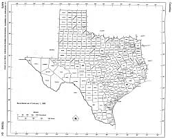 Blank Texas Map by Maps And Census Records