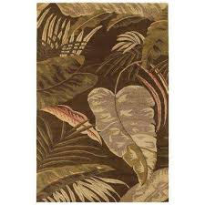 Palm Tree Area Rugs Floral Kas Rugs Area Rugs Rugs The Home Depot