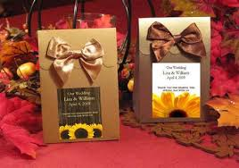 sunflower wedding favors sunflower wedding collection pavia party favors
