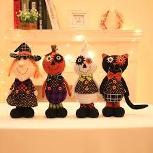 kawaii halloween black cat pumpkin doll plush toys stuffed plush