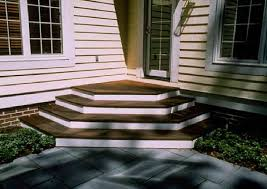 Deck Stairs Design Ideas Ipe Deck Stairs White Risers And Home Page Stairs Design Design
