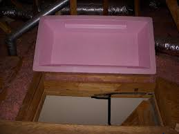 top attic stair cover options latest door u0026 stair design