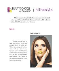 New Fall Hairstyles 2014 by Beauty Schools Of America