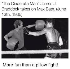 Pillow Fight Meme - the cinderella man james j braddock takes on max baer june 13th