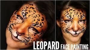 easy leopard u2014 makeup u0026 face painting tutorial youtube