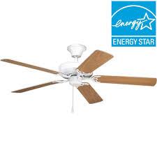 Model Ac 552 Ceiling Fan by Progress Lighting Airpro Builder 52 In White Ceiling Fan P2501 30