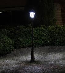 Garden Led Solar Lights by Amazon Com Gama Sonic Windsor Solar Outdoor Led Light Fixture 3