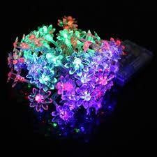 ebay led string lights details zu 4 5m 40 led flower led string lights battery operated